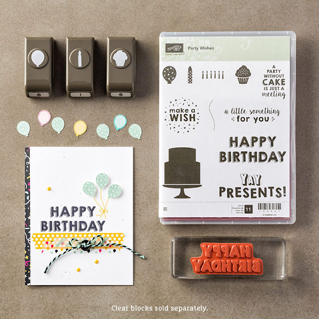 its my party wishes stampin up uk bundle