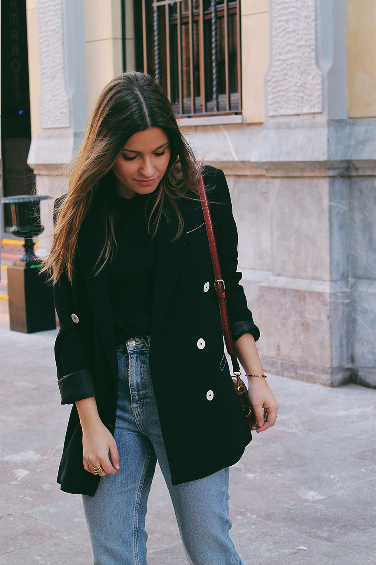 look blazer negro moda