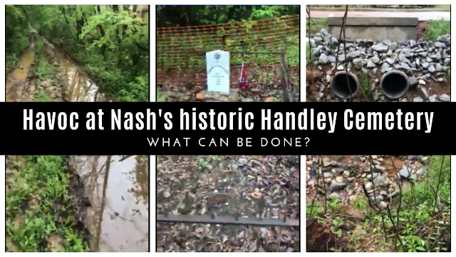 Havoc at Handley: Local man asks for help to save city's first cemetery as Nash, Texas confirms Handley Cemetery's importance to the community