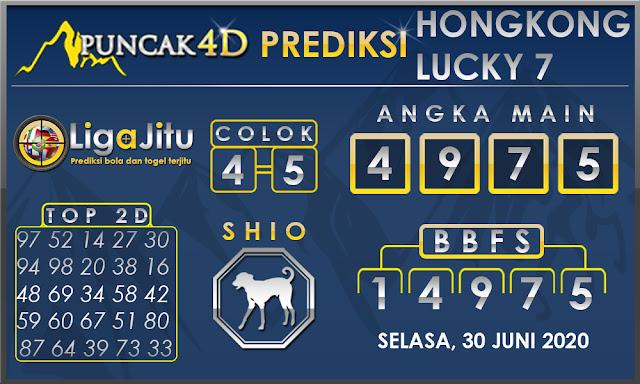 PREDIKSI TOGEL HONGKONG LUCKY 7 PUNCAK4D 01 JULI 2020