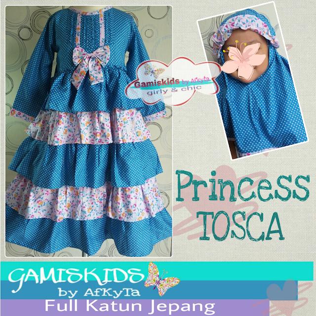 Baju Gamis Anak Katun Jepang Baju Muslim Anak Baju