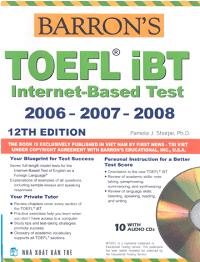 Barron'S TOEFL Ibt Internet - Based Test - Pamela J. Sharpe