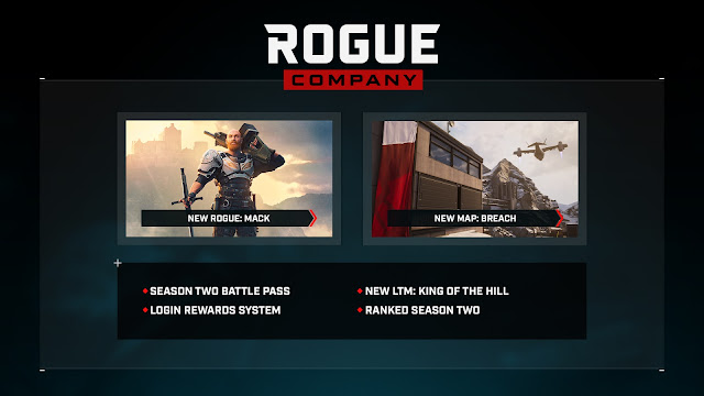 Season Two & The Mack Update of Rogue Company arrives today - here's what new is coming   TechNeg