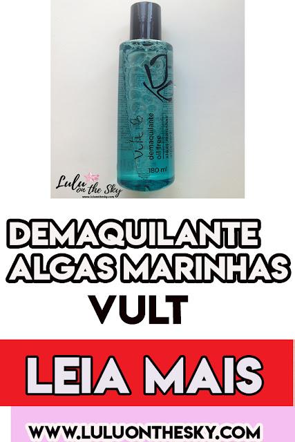 DEMAQUILANTE VULT OIL FREE ALGAS MARINHAS/ALOE VERA