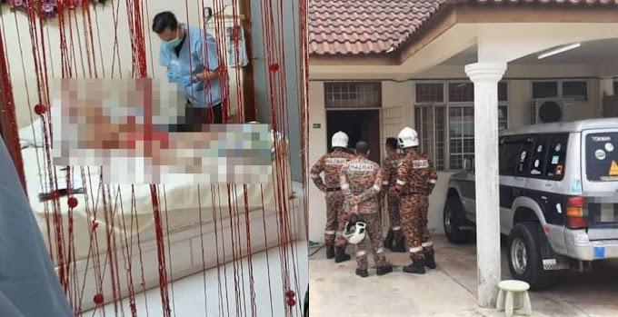 Pintu Rumah Terkunci Dari Dalam, Mayat Ditemui Terbaring Atas Katil