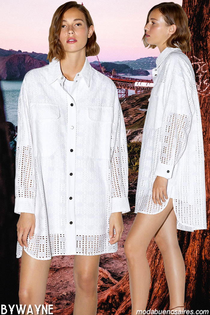 Camisas y camisolas primavera verano 2020. Moda 2020.