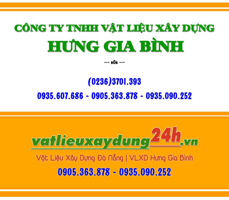 VLXD Hưng Gia Bình - Đà Nẵng