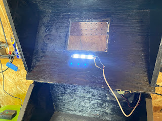 LED installed