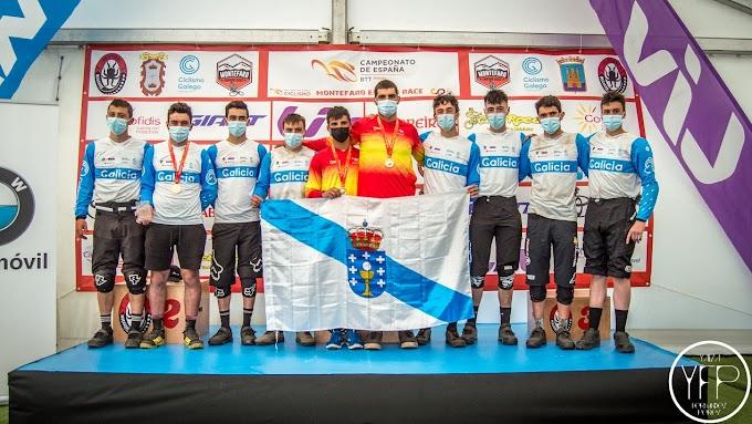 Galicia ratificó su condición de potencia del Enduro en el Campeonato de España de Montefaro