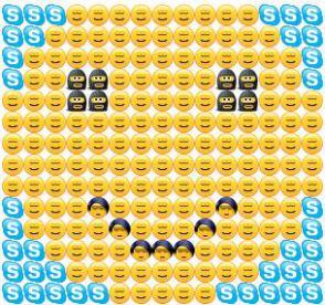 Big Skype Smiley Emoti...