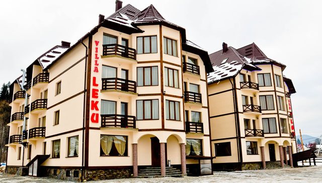 Буковель готель Villa Leku Bukovel