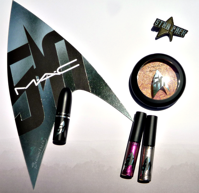 MAC Star Trek makeup collection: limited edition packaging