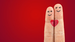 heart on finger whatsapp dp hd image
