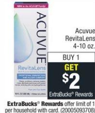 Acuvue RevitaLens