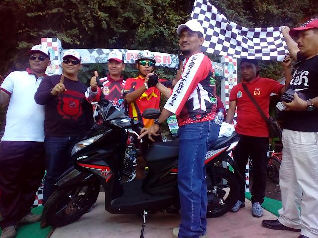 Junaidi, Juara Pertama Rally Sepeda Sepanjang Tahun