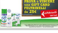 """Logo Concorso """"Torna a scuola con Oust 3in1"""" : vinci 400 Gift Card La Feltrinelli"""