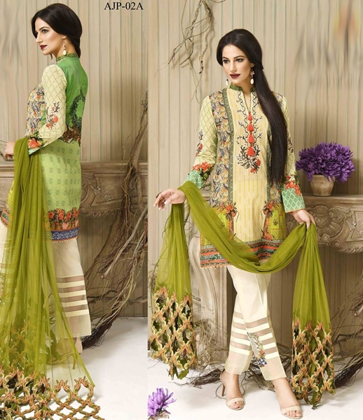 Asim Jofa Premium Cotton Eid Collection 2016-17