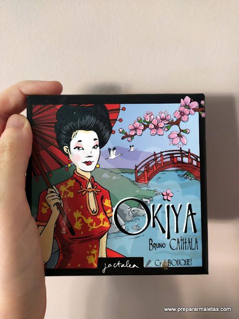 juego de mesa para viajar, Okiya (ambientado en Japón)