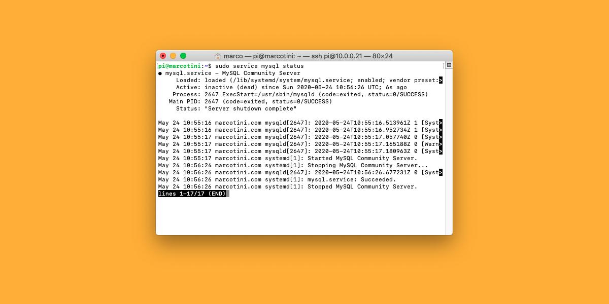 Come correggere l'errore 2002 di MySQL