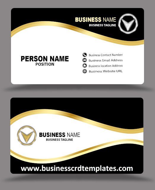 latest-golden-black-business-card-design-free-download