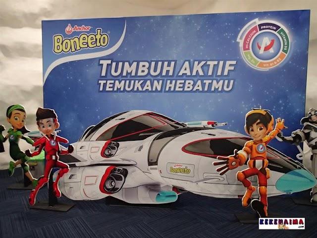 A-VENTURES, Karakter Super Hero Anchor Boneeto untuk Anak usia 7-12 Tahun