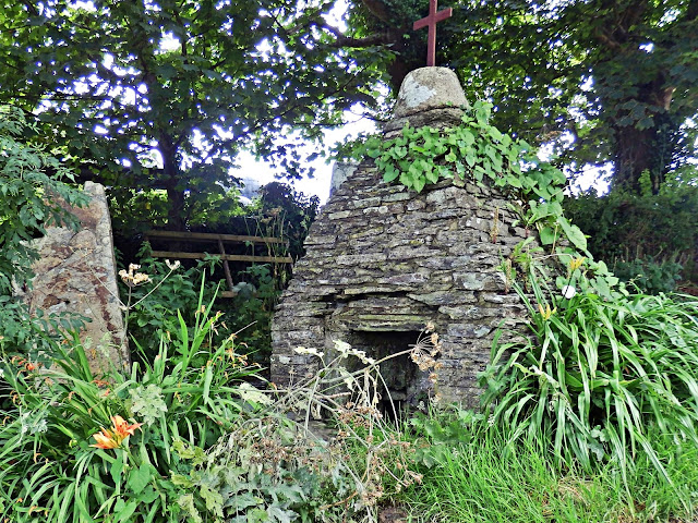 Holy well at Trevethy, Cornwall near Tintagel