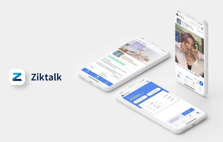 Ziktalk, Blockchain-Based Social Networking App, Hits 500,000 Users