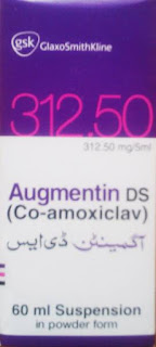 augmentin ds 356.5mg suspension