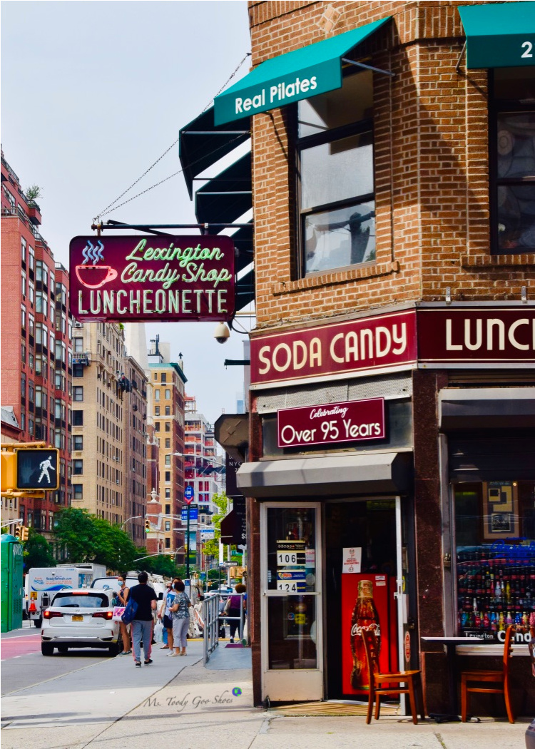 Lexington Candy Shop, an old-fashioned luncheonette, New York City, NY  _ Ms. Toody Goo Shoes