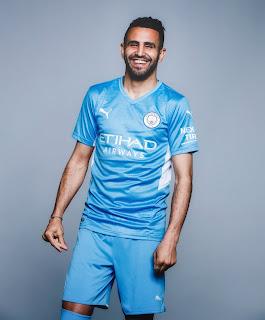 محرز بقميص مانشستر سيتي الجديد 2022