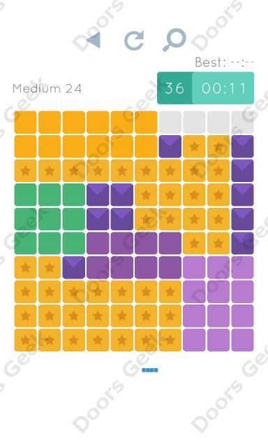 Cheats, Walkthrough for Blocks and Shapes Medium Level 24