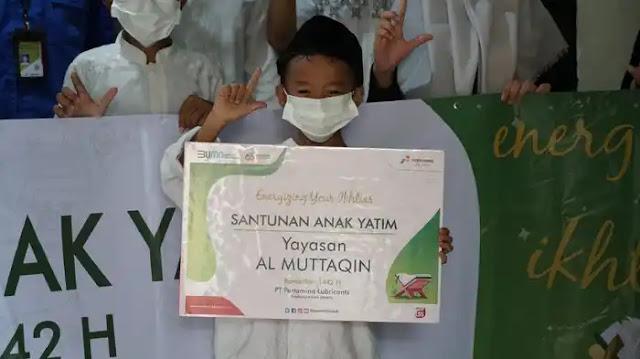 Pertamina Lubricants Adakan Doa Bersama dan Pemberian Santunan Kepada 1.300 Anak Yatim