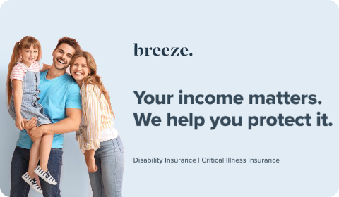 Breeze – Your income matters