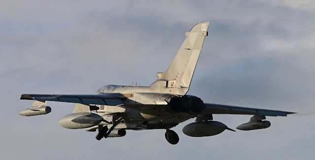 Panavia Tornado GR4 of Royal Air Force on Ferry Flight