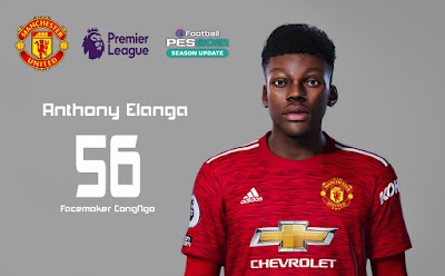 PES 2021 Faces Anthony Elanga by CongNgo