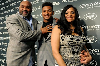 Jamal Adams Family