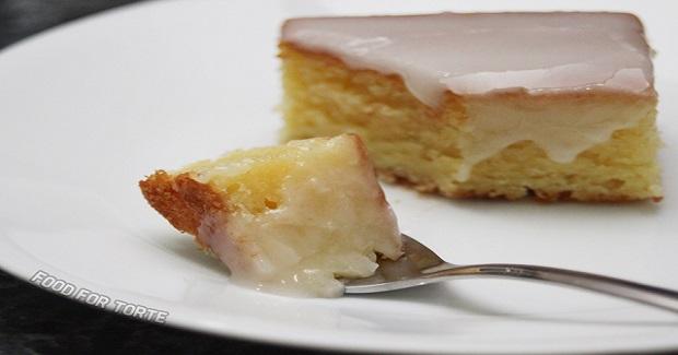White Chocolate Cake With Lemon Glaze Recipe