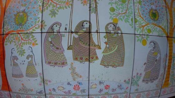 Bihar museum painting HD