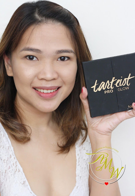 a photo of Nikki Tiu wearing Tarte Tarteist Askmewhats