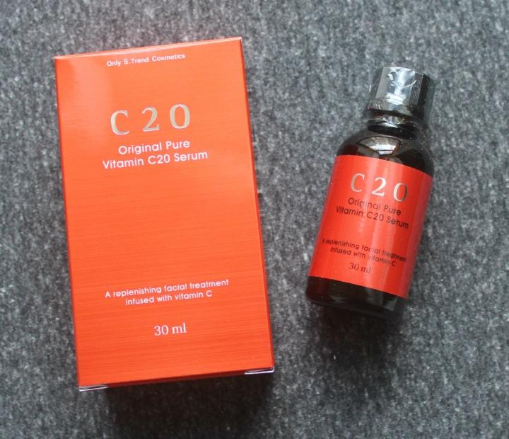 OST C20 Original Pure Vitamin C20 Serum Vitamin C box
