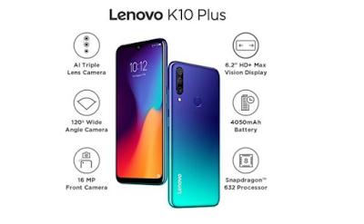 هاتف لينوفو Lenovo K10 Plus