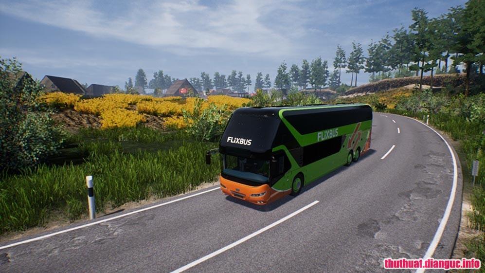 game mô phỏng lái xe bus