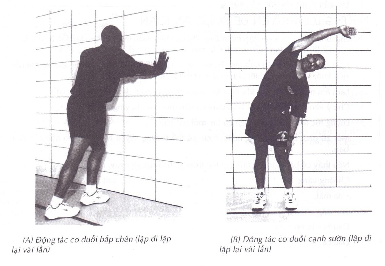 Cần làm ấm cơ thể trước khi tập luyện thể thao