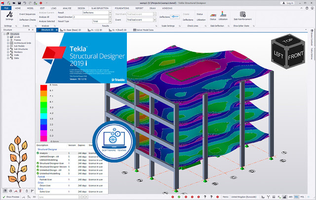 Trimble Tekla Structural Designer 2019i SP2 v19.1 Free Download