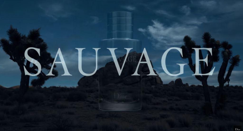 modello attore Pubblicità Dior Sauvage 2016