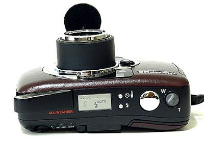 Olympus LT Zoom 105 Panorama QD Top