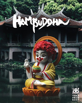 Hambuddha Vinyl Figure by Tik Ka From East x Mighty Jaxx