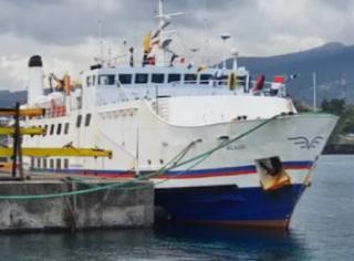 L'Acadie est arrivé à bon port, aux Comores !