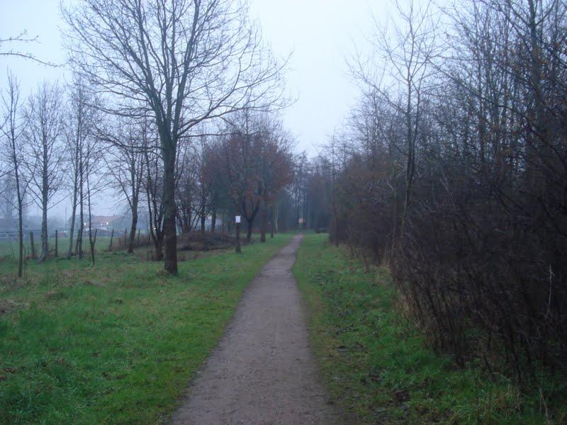 vroegere spoorlijn Roeselare-Menen