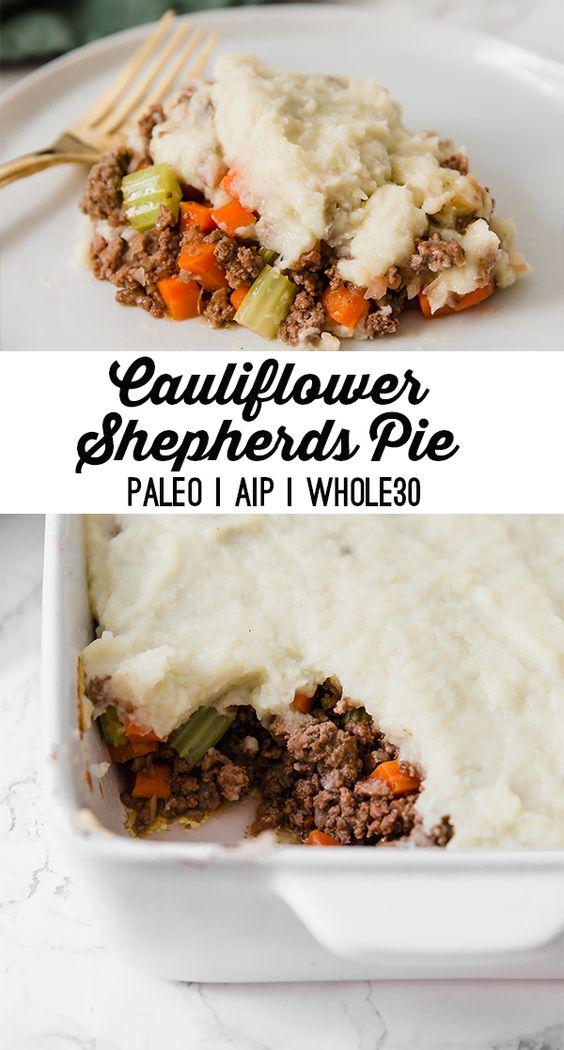 Cauliflower Shepherds Pie (Pаlео, Whоlе30, AIP)